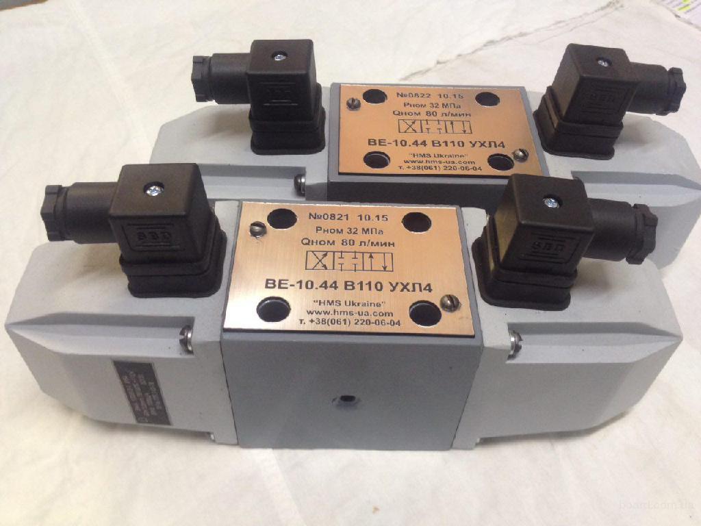Гидрораспределитель электромагнитный ВЕ-10.44 В220 ВЕ-10.34 Г24 ВЕ-10.64 В110