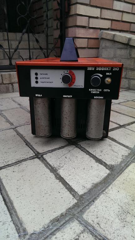 Сварочная Электролизно-водная установка «Эффект-210»