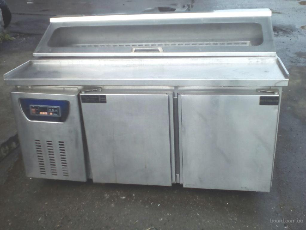 Стол холодильный для пиццы  б.у EWT INOX SB2R, с гарантией.