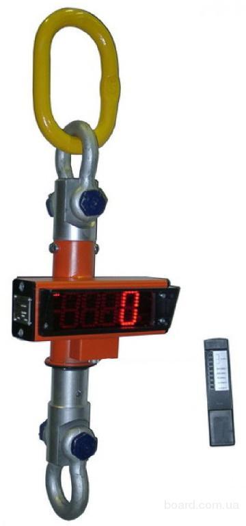 Крановые весы с пультом управления МК-10000 (10т) бу