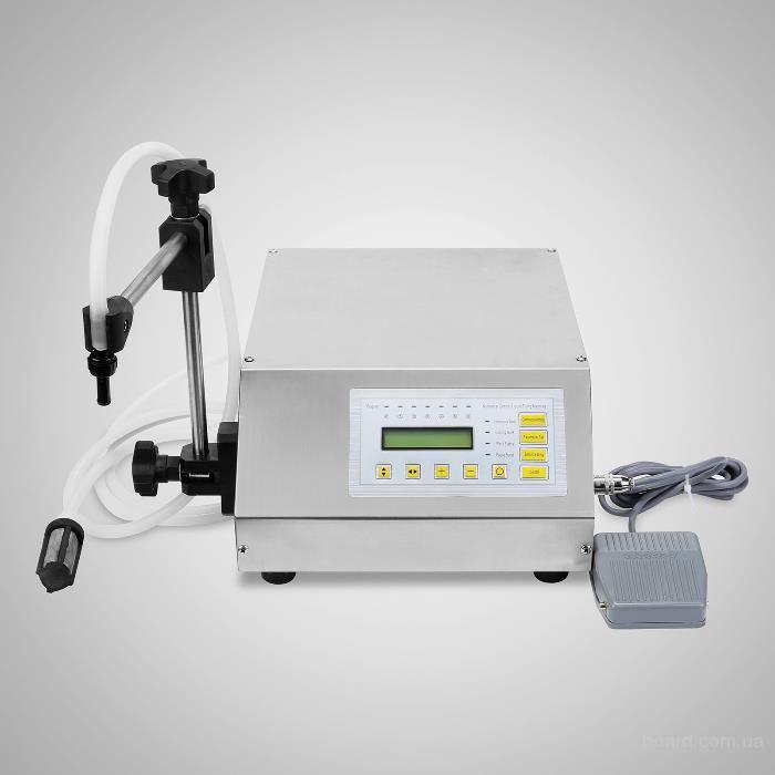 Оборудование с дозатором для разлива жидкостей и пласт в тару от 1 до 3500 мл.