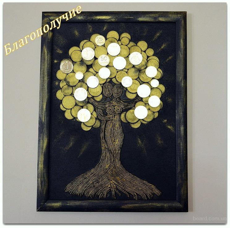 Подарочные картины Денежного дерева