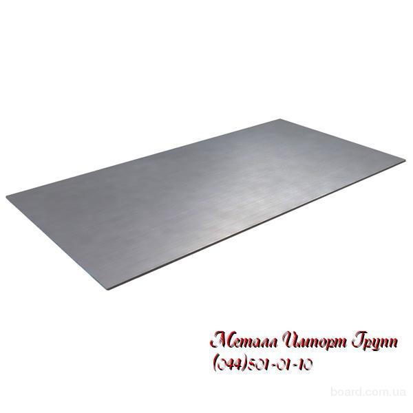 Лист нержавеющий размером 2х1000х2000 мм марка AISI 304(08Х18Н10)