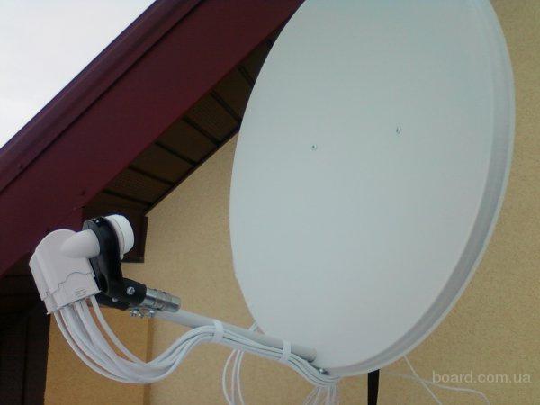Установка и настройка спутниковой антенн