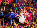 """Эксклюзивное шоу эмоций """"Лента-Шоу"""" - Ленточная дискотека - Color Party"""