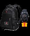 Швейцарский рюкзак swissgea + часы Swiss army в подарок