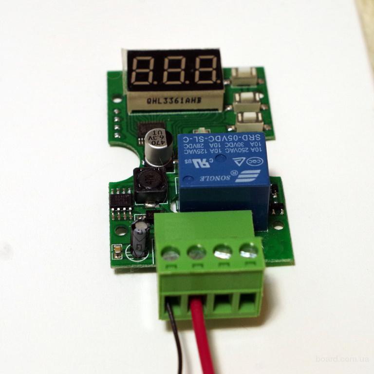 Реле защиты аккумулятора от перезаряда и глубокого разряда, контроллер постоянного напряжения