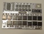 BMS 5S 100А 21V плата защиты Li-Ion аккумулятора c балансиром 4S 3S BMS 5S 60-100А, 21V Контроллер заряда разряда,