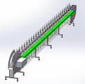 Конусная линия для разделки тушки или снятия филе птицы DPdk-9,5