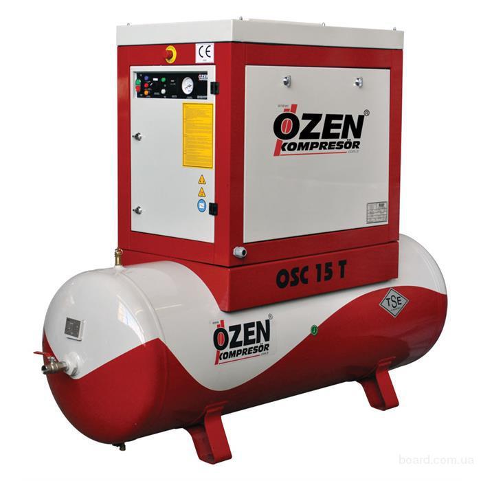 Винтовой компрессор Ozen OSC 20 T с ресивером  (продам)