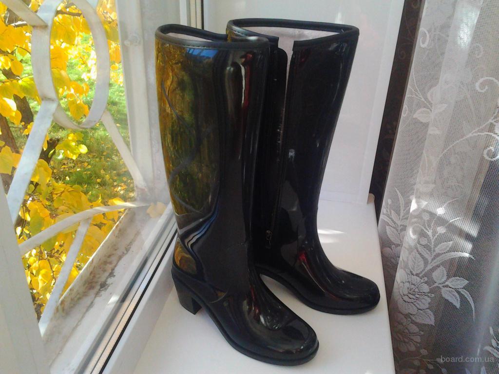 738975d07 Резиновые сапоги Bellina черные - продам. Цена <span class=
