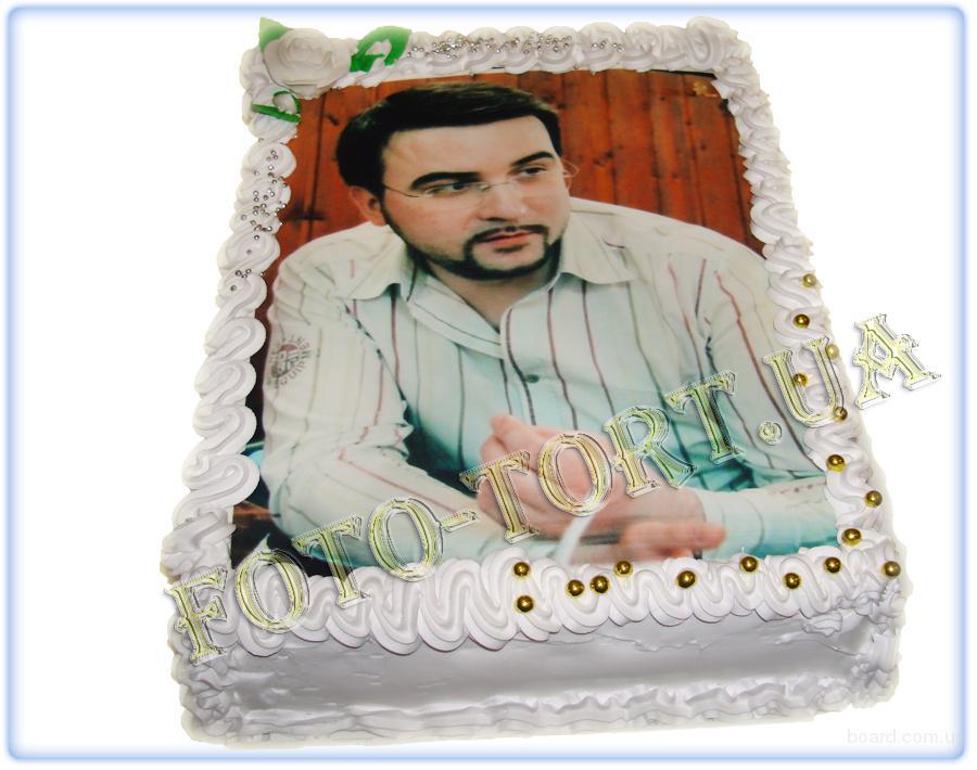 Торт с фото картинкой