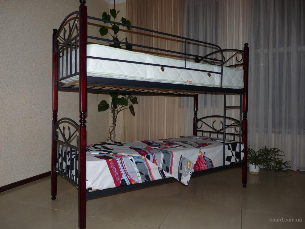 всего двухъярусная кровать своими руками из металла фото старший сын нашел