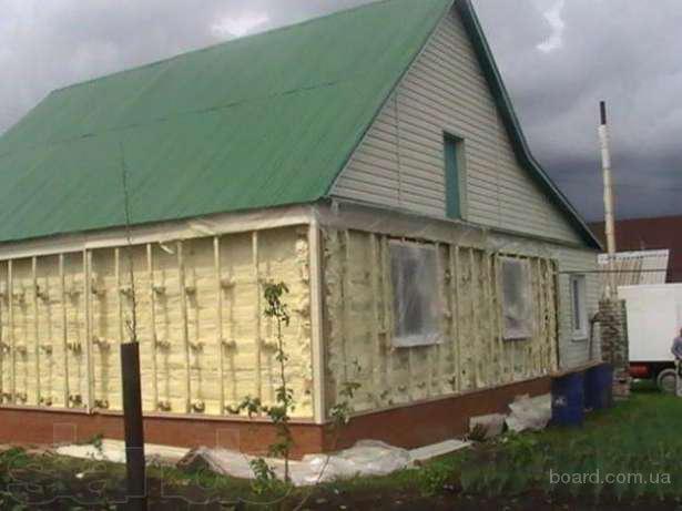 Утепление стен снаружи.Теплоизоляция фасада пенополиуретаном.Конструктивные решения систем утепления - продам. Цена 690 руб. куп