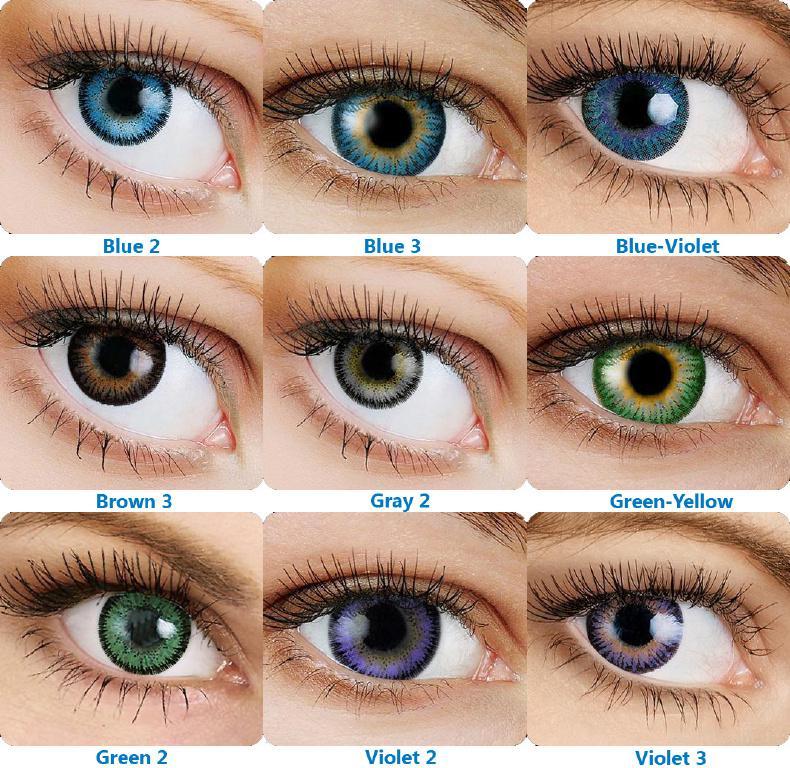 Цвет глаз фото с описанием цвета