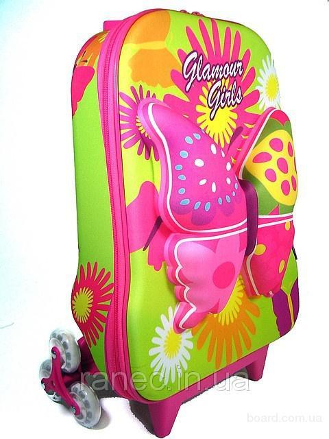 26edba5d79cd Детские чемоданы на колесиках для интересных путешествий (Италия ...