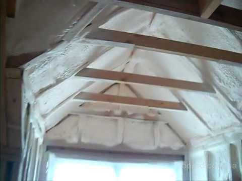 Утепление мансардной и скатной крыши дома изнутри - предлагаю. Электросталь, Россия. Фото