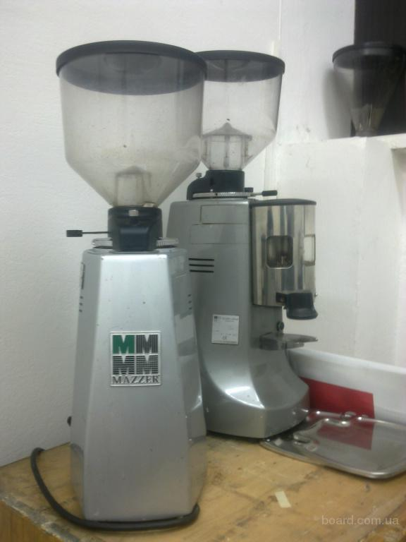 Кофемолки Mazzer Major , Robur , Royal