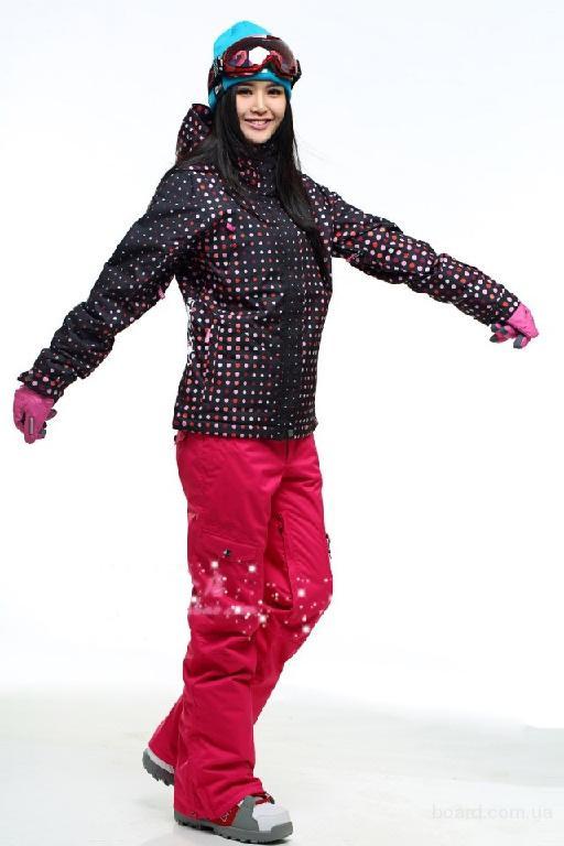Новый женский лыжный костюм (штаны Gsou Snow, куртка ROXY) XS ... 9b4fa4b5468