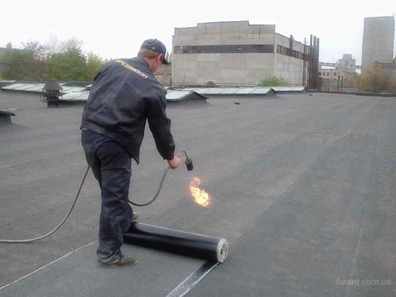рубемаст как укладывать на крышу