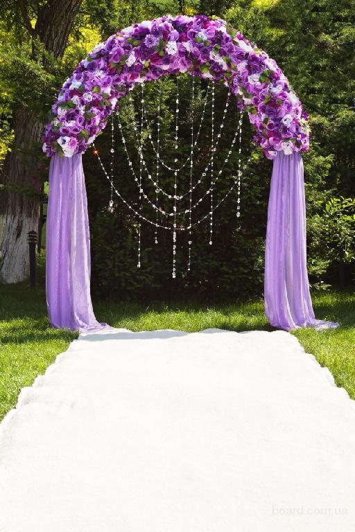 фото арок свадебных