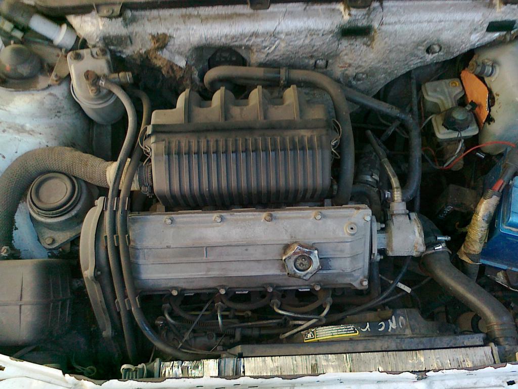 фиат уно.двигатель
