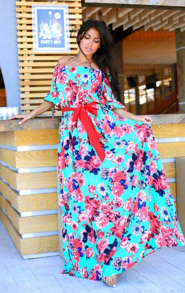 7ceb243babd Длинное летнее платье из коттона (макси) - продам. Цена 299 грн ...