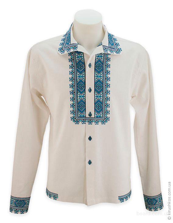 Вишита сорочка на гудзиках - продам. Цена 1 100 грн. купить Вишита ... ba6bbeec20123
