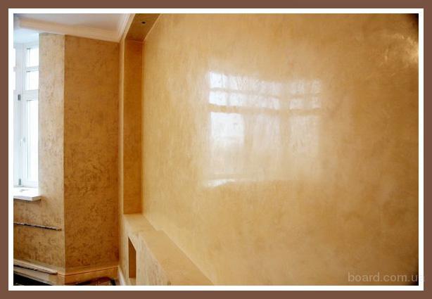 Восковое покрытие стен