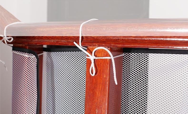 защитная сетка для лестницы
