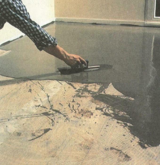 как выровнять неровности на бетонном полу
