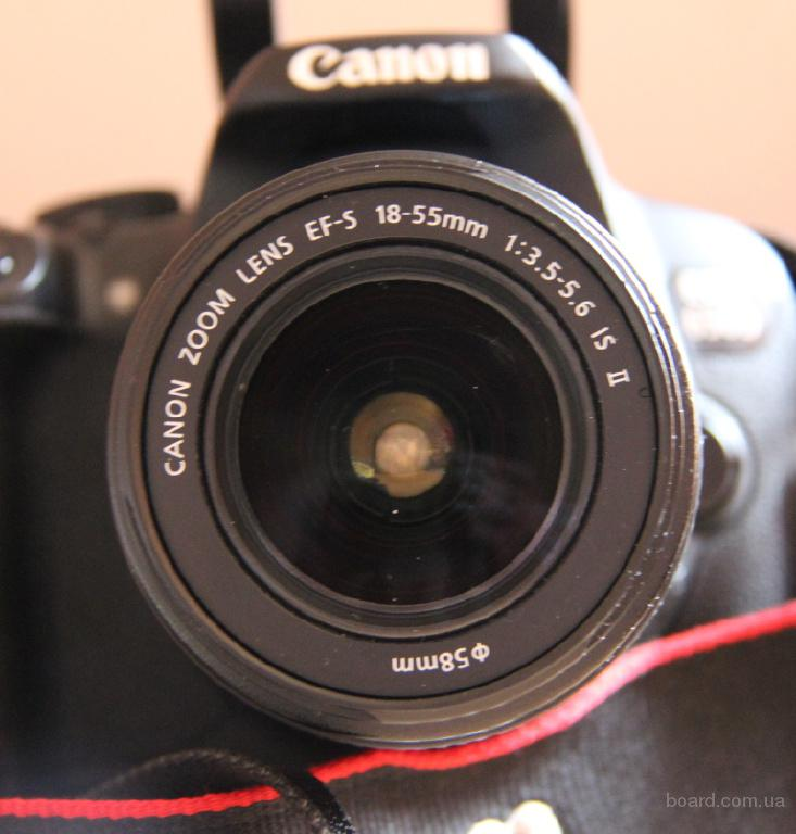 Canon EOS 650D + объектив 18-55mm IS II Kit