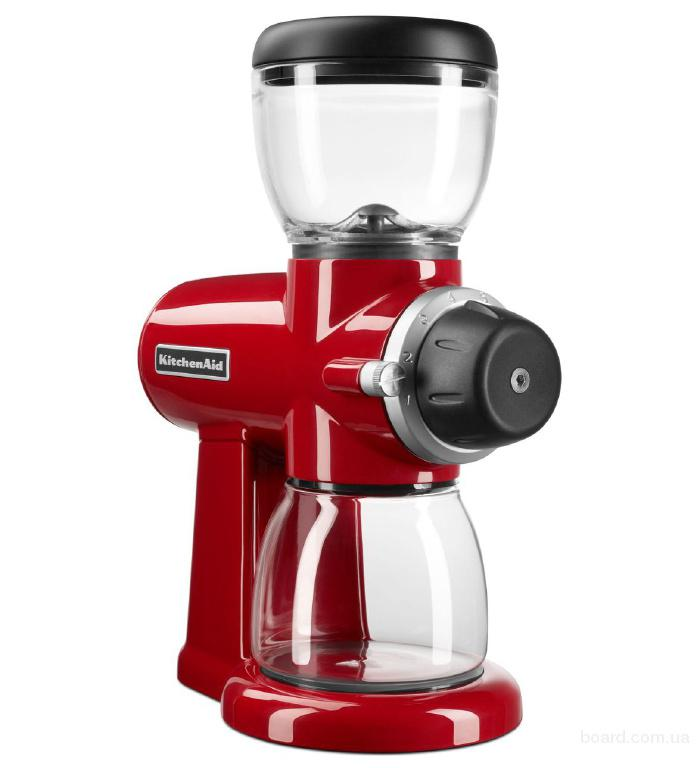 Кофемолка KitchenAid Artisan Burr Grinder, Empire Red