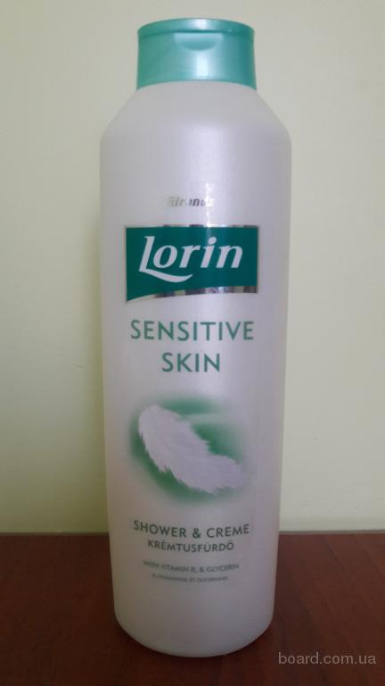 Гель для душа LORIN sensitiv skin 1000ml