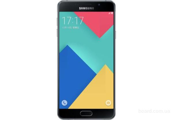 Samsung SM-A710F Galaxy A7 DS DS Midnight Black