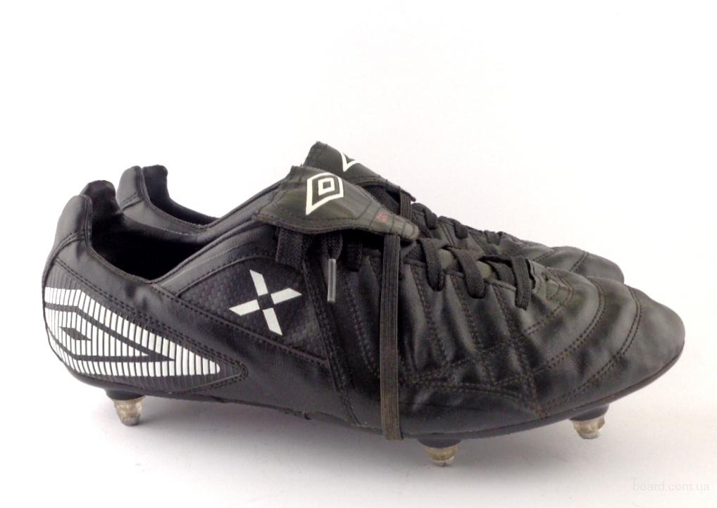 6b47efee Бутсы, копы футбольные кожаные Umbro (БФ – 095) 44 – 44,5 размер ...