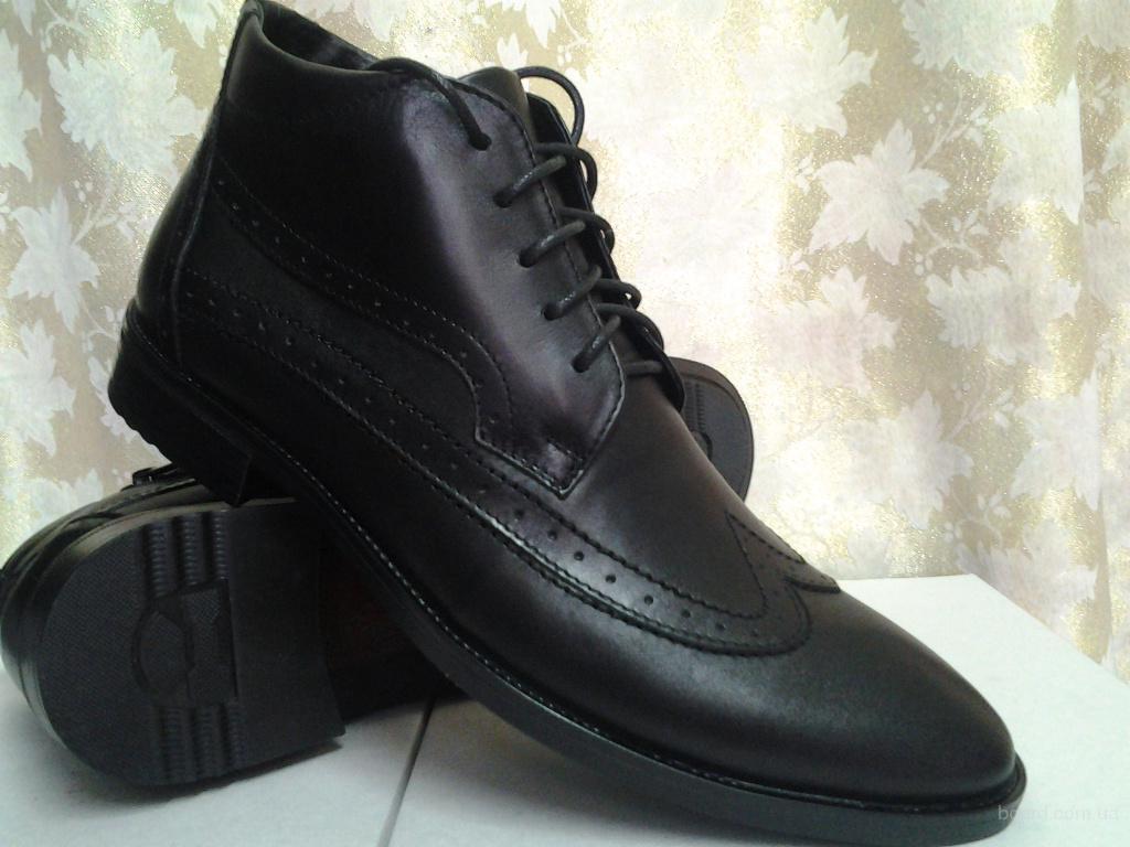 48e4fe9b4 Классические зимние мужские ботинки Faro Распродажа - продам. Цена ...