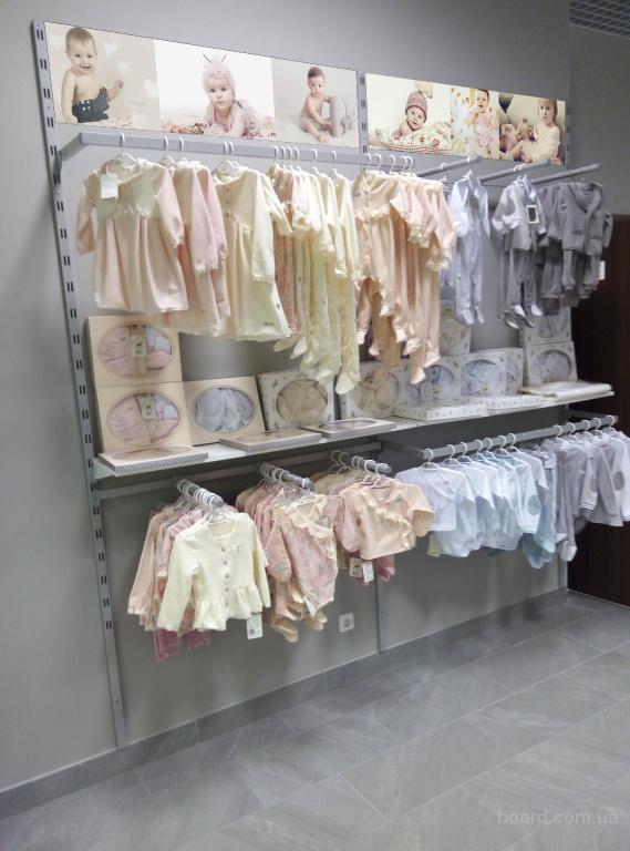 f4d019a25f7 Торговое оборудование б у (стеллажи и мебель) в магазин детской одежды