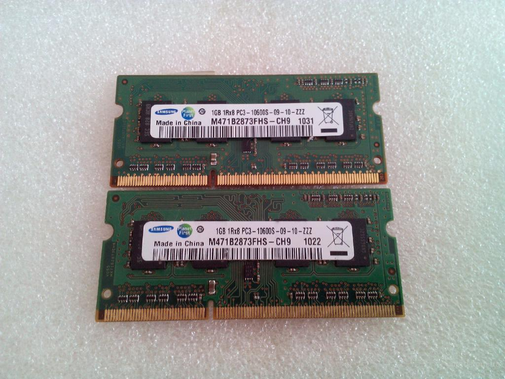 Продам модули памяти Samsung M471B2873FHS-CH9 (HP spare 598859-001) + SO-DIMM to DIMM Adapter