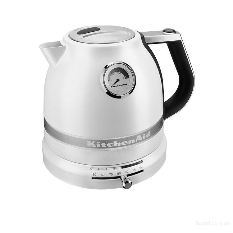 Электрический чайник KitchenAid Pro Line® Series Electric Kettle 1.5 л, Frosted Pearl White