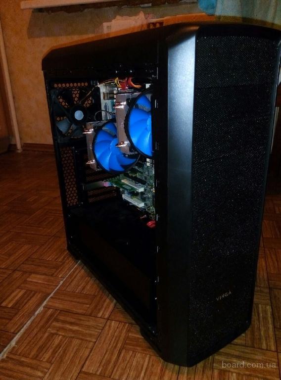 Рабочая станция DUAL XEON L5640, 24GB RAM для рендера и разработки