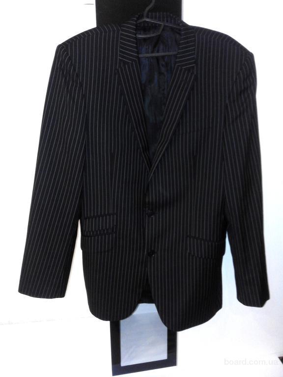 b1890b94d94c302 Классический черный костюм двойка, 50 % шерсть - продам. Цена 590 ...