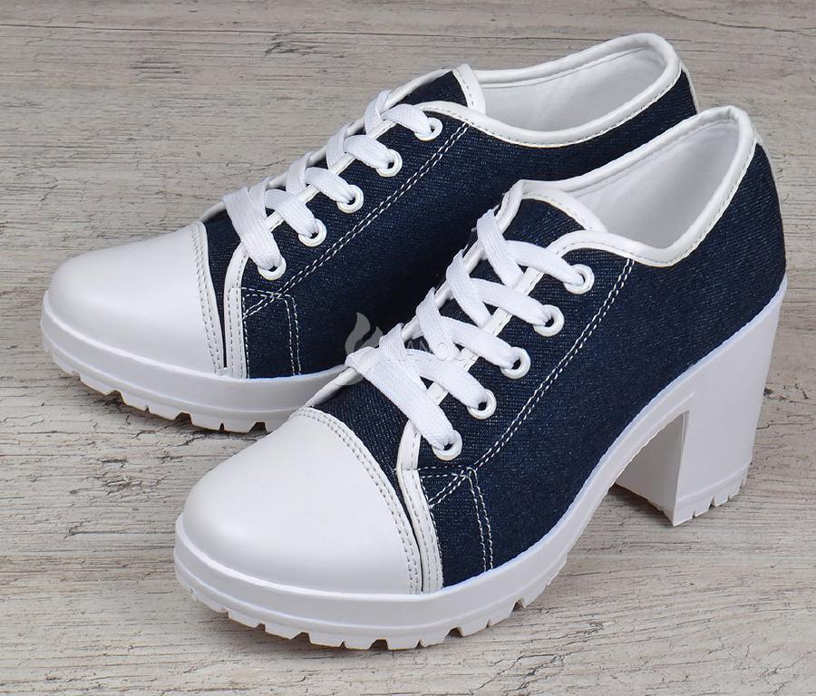 5f993a466 Туфли женские джинс на широком каблуке Miu Miu style - продам. Цена ...