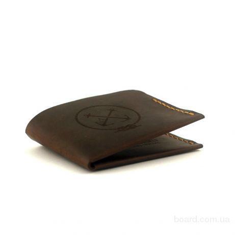 fdfeea68f145 Кожаный кошелёк Triplet - супер компактное мужское портмоне из кожи ...