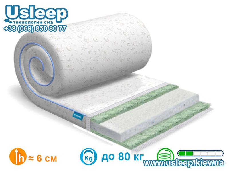 Тонкий матрас SleepRoll Air Comfort 3+1 Bamboo